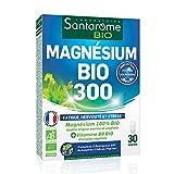 Magnésium Bio 300 | Complément Alimentaire Stress et Mémoire - A base de Magnésium d'orginie marine et végétale | 30 Comprimés