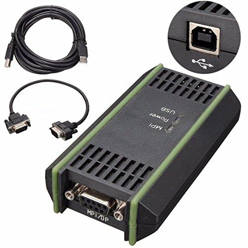 Jian ya NA A2PC USB cavo di programmazione per Siemens Simatic S7–200PLC S7–300PLC S7–400PLC sostituire 6ES7972–0CB20–0x A0compatibile con STEP7con Mpi PC adattatore USB