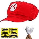 thematys Chapeau Super Mario - Costume pour Adultes et Enfants en 4...