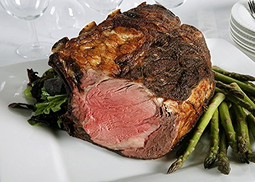 Chicago Steak Ribeye Roast - Have a Taste of Delicious Prime Beef! – USDA Prime Dry Aged Bone-In Heart Rib Roast Beef (8-9 Lbs.) - Gourmet Food Steak Set –PSG013 PRIMED Aged Steak
