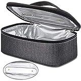 Vemingo Portable UV Light Sanitizer Bag, 8.25 4.75 3.25 inch UVC Sterilizer Disinfection Box for Phone, Jewelry, Watches, Glasses