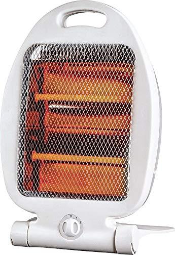 Estufa Calefactor halógeno 2 Tubos de Cuarzo 800 W Bajo Consumo...