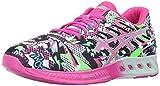 ASICS Women's Fuzex Running Shoe, White/Pink Glow/Soothing Sea, 7.5 M US