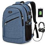 Mochila para ordenador portátil, bolsa para ordenador portátil para hombre y mujer, mochila...
