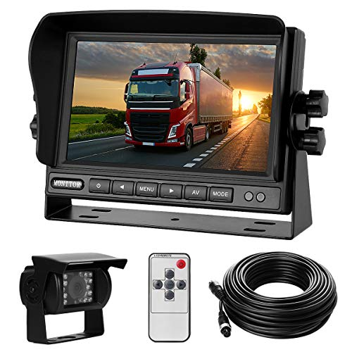 Rückfahrkamera-Set mit 7'-LCD-Monitor & 170°...