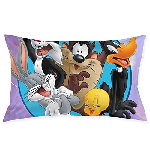 Pillowcase Cartoon Pillowcase-Soft, Cool, Anti-Wrinkle and Hypoallergenic (20×30 Inches)