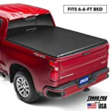 Tonno Pro Hard Fold, Hard Folding Truck Bed Tonneau Cover | HF-158 | Fits 2014-2018, 19 Ltd/Lgcy GMC Sierra & Chevrolet Silverado 1500 6'6' Bed