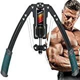 EAST MOUNT Twister Arm Exerciser - Adjustable 22-440lbs Hydraulic Power, Home Chest Expander, Shoulder Muscle Training Fitness Equipment, Arm Enhanced Exercise Strengthener.