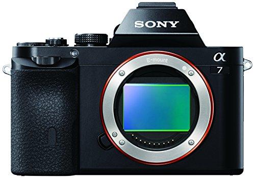 Sony Alpha 7 Fotocamera Digitale Mirrorless ad Obiettivi Intercambiabili, Sensore CMOS Exmor Full-Frame da 24.3 MP, ILCE7B, Nero