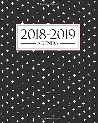 Agenda 2018-2019: 190 x 235 mm : Agenda 2018-2019 semana vista español : 160 g/m² : Agenda semanal