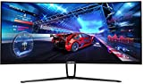 Sceptre 35 Inch Curved UltraWide 21: 9 LED Creative Monitor QHD 3440x1440 Frameless AMD Freesync...