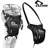Motorcycle Racing Leg Bag Outdoor Bag Bike Bag Cycling Hip Bag Tactical Bag Travel Bag Tool Bag,Black,Ultra-Large Capacity Extensional Waterproof