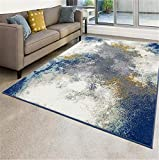 Luxe Weavers Abstract Blue 5x7 Area Rug…