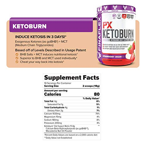 Keto Starter Kit, 7 Day System, Get Into Ketosis and Start Burning Fat in 3 Days, Strips, BHB, Everything You Need to Lose Weight (Strawberry) 6