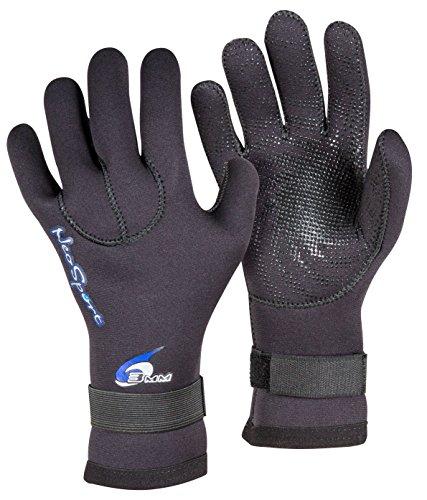 Neo Sport Wetsuits Premium Neoprene 3mm Five Finger Glove, Black, Large