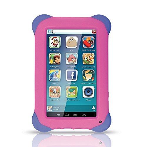 Tablet Kid Pad 7Pol 8Gb Quad Core Wi-Fi Rosa Nb195 Multilaser