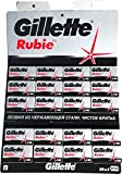 100 Rubie Double Edge Safety Razor Blades