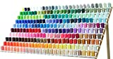 260 Spools Polyester Machine Embroidery Thread Set 40wt Compatible with Brother Babylock Janome Singer Pfaff Husqvarna Bernina Machines