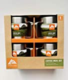 Ozark Trail 12 OZ Stainless Steel Coffee Mugs 4 Pack