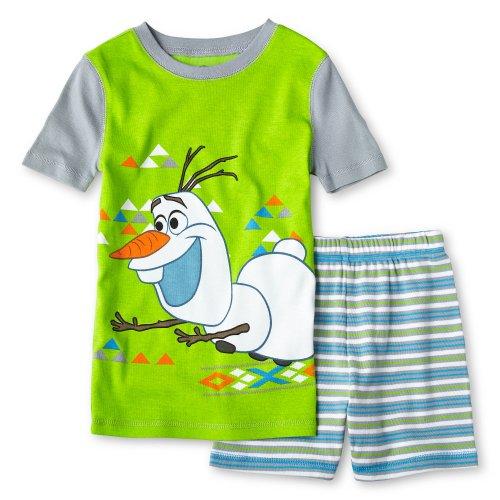 Disney Frozen Olaf 2 Piece Pajama Set for Boys (2)