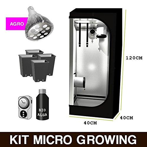 Kit Mini GrowBox + LED AGRO 40x40x120