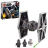 LEGO Star Wars 75300 TIE Fighter impérial Jeu de construction incluant Stormtrooper et figurines de la saga Skywalker