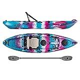 Vibe Kayaks Yellowfin 100 10 Foot Angler Recreational Sit On Top Light Weight Fishing Kayak (Jam...