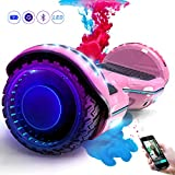 COLORWAY Hoverboard SUV 6.5 Pouces, Gyropode Tout-Terrain 700W, avec Roues...