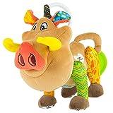 Lamaze Disney Lion King Clip & Go Baby Toy, Pumbaa, Brown