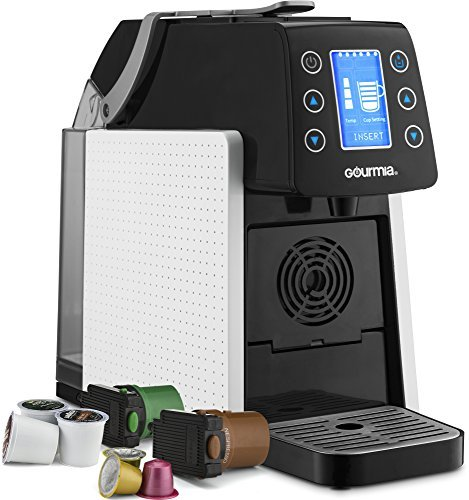 Gourmia GCM5100 Espresso Machine, Multi Capsule, White