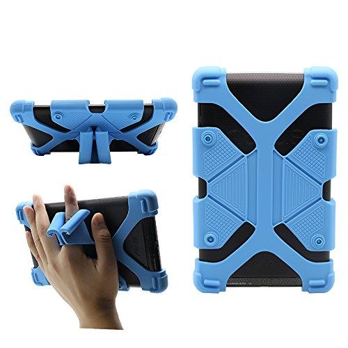 Custodia per tablet da 7 pollici universale Custodia da viaggio per silicone antiurto con supporto...