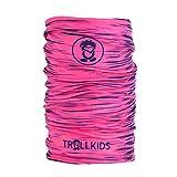 Trollkids Kinder Troll kuscheliges weiches Multifunktionstuch, Marineblau/Magenta, Größe OneSize