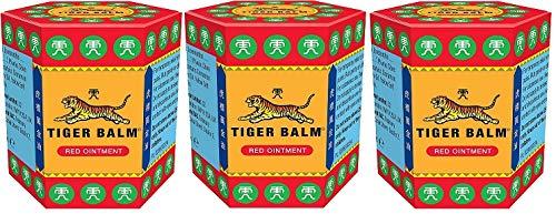 Bálsamo del Tigre Rojo - Ungüento, paquete de 3 unidades (