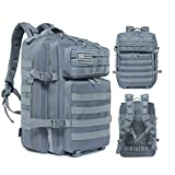 Delgeo Mochila Táctica Militar, 45L Gran Capacidad Mochila Crossfit, Plegable Impermeable Mochila...
