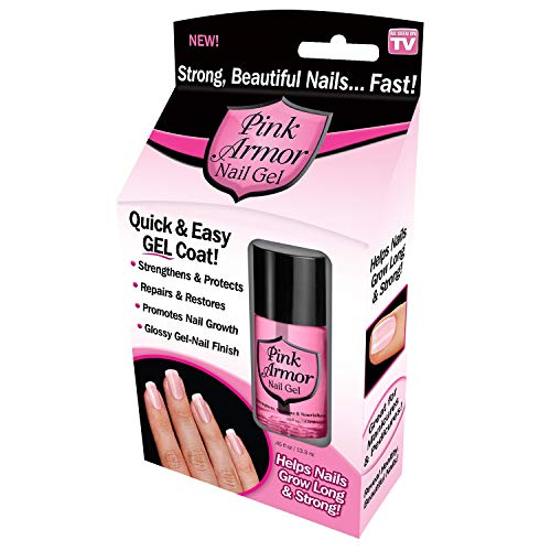 Ontel Armor Nail Gel, As Seen on TV, Pink, 0.45 Fl Oz