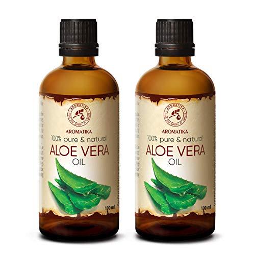 Aceite de Aloe Vera 2x100ml - Aloe Barbadensis - Brasil - 10