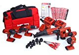 Hilti 03482678 18-Volt Cordless Combination Package, Includes 7 Tools