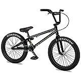 Eastern BMX Bikes - Cobra Model Boys and Girls 20 Inch Bike. Lightweight Freestyle Bike Designed by Professional BMX Riders at Eastern Bikes. (Black)