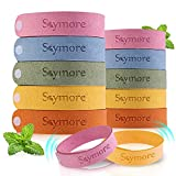 Skymore Bracelet Fibre de Citronnelle pour Adultes/Enfant (Paquet de 12) - Taille...