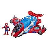 Il  jet di Spider-Man Marvel Super Heroes