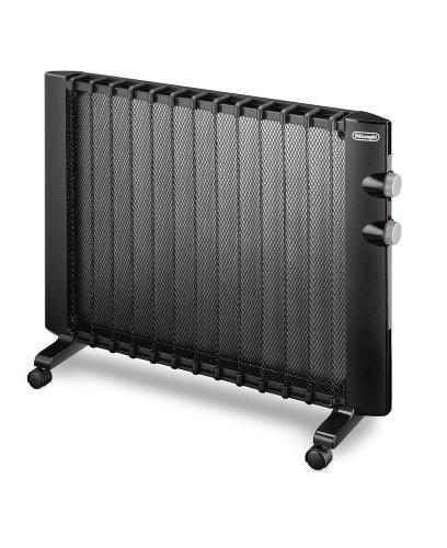 DeLonghi HMP 2000 Wärmewelle Heizgerät (Für Räume bis zu 60 m³, 2000 Watt) schwarz