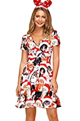 "CHRISTMAS DRESS - This Christmas Warp Party Dress is The Time to Let Your Attractive Take a First Seat and Become Whoever You Want. More Christmas Clothing Can Search ""For G And PL Christmas"". SIZE INFORTMATION - S US(4-6), M US(8-10), L US(12-14), X..."