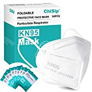 Reliable Protection: KN95 Face Mask is 2 High-density melt-blown fabric layers ,2 skin-friendly non-woven fabric layers ,and 1 High-density hot-air cotton Core layer designed to help filter out 95% of particles. 5-Ply protective barrier to support an...