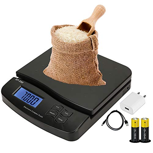 ENEM SF-550 30 KG Digital Weighing Machine for Kitchen | Small Platform Size | Portable | Electronic...