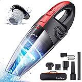 Audew Cordless Handheld Vacuum, Upgraded Hand Vacuum Cordless Rechargeable Pet Hair Vacuum, Car...