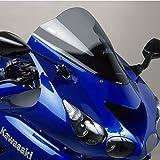 Puig 4057H RACING-SCREEN [SMOKE] Kawasaki ZZR1400 (06-19)プーチ スクリーン カウル