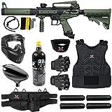 Maddog Tippmann Cronus Tactical Protective CO2 Paintball Gun Marker Starter Package - Black/Olive