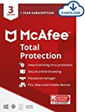 McAfee Total Protection 2021, 3 Device Antivirus Internet Security Software, Password Manager,...