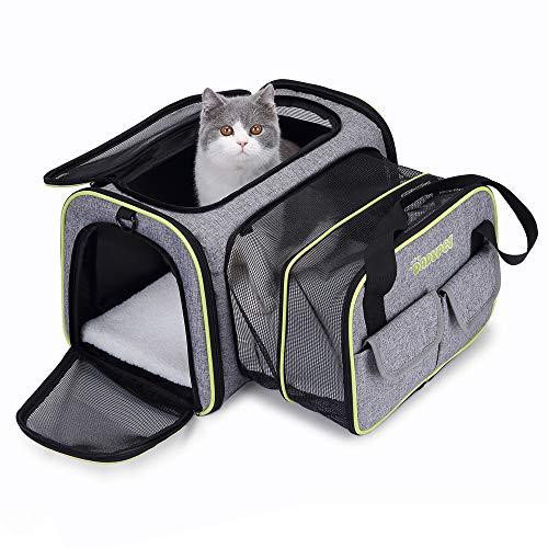 DADYPET Transportin Gato, Transportin Perro Pequeño Mascotas Cómodo...