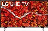 LG LED Smart TV 43' Slim Real 4k UHD TV, Enhanced 4K, Native 60Hz Refresh Rate, Dolby Cinema, Voice Commands, WiFi, Bluetooth, Google/Alexa - 2021 Model